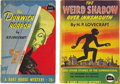Books:First Editions, H. P. Lovecraft. Two Early Bart House Paperbacks, including: TheWeird Shadow Over Innsmouth.... (Total: 2 Items)