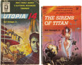 Books:First Editions, Kurt Vonnegut, Jr. Two Paperback First Editions, including: TheSirens of Titan.... (Total: 2 Items)