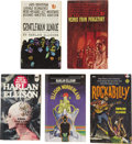 Books:Fiction, Harlan Ellison. Five Paperback Books, Three Signed,... (Total: 5Items)