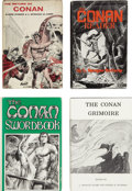 "Books:First Editions, L. Sprague de Camp. Four ""Conan"" First Editions,... (Total: 4Items)"