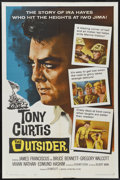 "Movie Posters:War, The Outsider (Universal, 1962). One Sheet (27"" X 41""). War...."