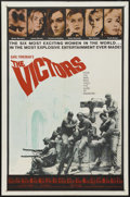 """Movie Posters:War, The Victors (Columbia, 1963). One Sheet (27"""" X 41""""). War...."""