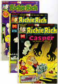 Bronze Age (1970-1979):Cartoon Character, Richie Rich and Casper - File Copy Group (Harvey, 1974-82)Condition: VF+.... (Total: 17 Comic Books)