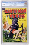 Golden Age (1938-1955):Science Fiction, An Earth Man on Venus #nn (Avon, 1951) CGC NM 9.4 Off-white towhite pages....