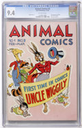 Golden Age (1938-1955):Funny Animal, Animal Comics #2 (Dell, 1943) CGC NM 9.4 Off-white pages....