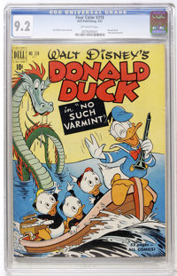 Four Color #318 Donald Duck (Dell, 1951) CGC NM- 9.2 Off-white pages