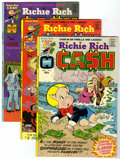 Bronze Age (1970-1979):Cartoon Character, Richie Rich Cash - File Copy Group (Harvey, 1974-82) Condition:Average NM-.... (Total: 22 Comic Books)