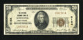 National Bank Notes:West Virginia, Wheeling, WV - $20 1929 Ty. 1 The National Exchange Bank Ch. #5164. ...