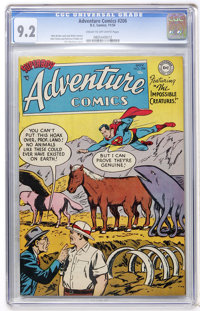 Adventure Comics #206 (DC, 1954) CGC NM- 9.2 Cream to off-white pages