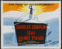 """The Gold Rush (United Artists, R-1950s). Half Sheet (22"""" X 28"""") Style B. Comedy"""