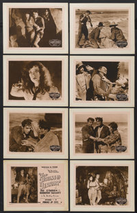 "The House of Terror (William Pizor, 1928). Lobby Card Set of 8 (11"" X 14"") Episode 9-- ""Pawns of Evil.&qu..."