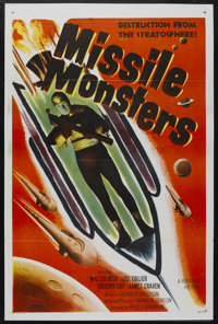 """Missile Monsters (Republic, 1958). One Sheet (27"""" X 41""""). Science Fiction"""