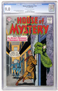 Silver Age (1956-1969):Mystery, House of Mystery #134 (DC, 1963) CGC VF/NM 9.0 Off-white to whitepages....