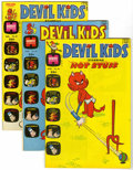 Bronze Age (1970-1979):Cartoon Character, Devil Kids Starring Hot Stuff - File Copy Group (Harvey, 1973-76)Condition: Average VF+.... (Total: 11 Comic Books)
