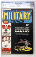 Golden Age (1938-1955):War, Military Comics #8 Pennsylvania pedigree (Quality, 1942) CGC VF/NM9.0 White pages White pages....