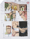 Original Comic Art:Miscellaneous, Amazing Spider-Man #375 Color Guide Production Art (Marvel,1993).... (Total: 9 Items)