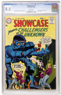 Silver Age (1956-1969):Superhero, Showcase #7 Challengers of the Unknown (DC, 1957) CGC VF+ 8.5 Whitepages....