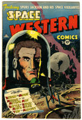 Golden Age (1938-1955):Science Fiction, Space Western #43 (Charlton, 1953) Condition: VG+....