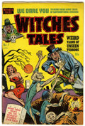 Golden Age (1938-1955):Horror, Witches Tales #1 (Harvey, 1951) Condition: VG+....