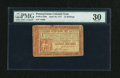 Colonial Notes:Pennsylvania, Pennsylvania April 10, 1777 16s PMG Very Fine 30....