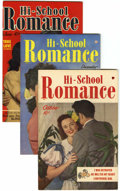 Golden Age (1938-1955):Romance, Hi-School Romance File Copies Group (Harvey, 1949-51) Condition: Average VF+.... (Total: 8 Comic Books)