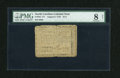 Colonial Notes:North Carolina, North Carolina August 8, 1778 $1/4 PMG Very Good 8 Net....