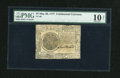 Colonial Notes:Continental Congress Issues, Continental Currency May 20, 1777 $7 PMG Very Good 10 Net....