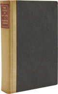 Books:Signed Editions, Clarence Darrow. The Story of My Life. New York: CharlesScribner's Sons, 1932....
