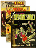Golden Age (1938-1955):Science Fiction, Charlton Golden Age Science Fiction Comics Group (Charlton,1954-62) Condition: Average VG.... (Total: 3 Comic Books)
