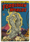 Golden Age (1938-1955):Horror, Forbidden Worlds #9 (ACG, 1952) Condition: GD+....