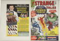 Original Comic Art:Miscellaneous, Strange Tales #118 and 121 Cover Proof Production Art (Marvel,1964).... (Total: 2 Items)