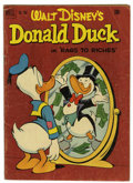 Golden Age (1938-1955):Funny Animal, Four Color #356 Donald Duck (Dell, 1951) Condition: VG....