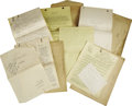 Movie/TV Memorabilia:Documents, Original Story Treatments and Shooting Scripts from Triangle Motion Picture Company, 1915-18. A total of 16 original story t... (Total: 1 Item)