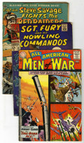 Silver Age (1956-1969):War, War Related Titles - Gold/Silver Age Group (Various, 1952-67) ....(Total: 7 Comic Books)