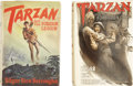 Books:First Editions, Edgar Rice Burroughs. Two First Edition Novels, including:Tarzan and the Forbidden City and Tarzan and the ...(Total: 2 Items)
