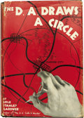 Books:First Editions, Erle Stanley Gardner. The D.A. Draws a Circle. New York:William Morrow and Company, 1939....
