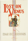 Books:First Editions, Edgar Rice Burroughs. Lost on Venus. Tarzana, California:Edgar Rice Burroughs, Inc. Publishers, [1935]....
