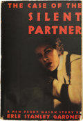 Books:First Editions, Erle Stanley Gardner. The Case of the Silent Partner. NewYork: William Morrow and Company, 1940....