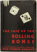 Books:First Editions, Erle Stanley Gardner. The Case of the Rolling Bones NewYork: William Morrow and Company, 1939....