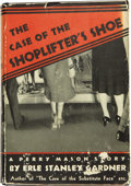 Books:First Editions, Erle Stanley Gardner. The Case of the Shoplifter's Shoe NewYork: William Morrow and Company, 1938....