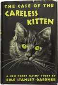 Books:First Editions, Erle Stanley Gardner. The Case of the Careless Kitten. NewYork: William Morrow and Company, 1942....