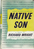 Books:First Editions, Richard Wright. Native Son. New York: Harper and BrothersPublishers, 1940....