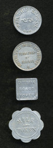 20th Century Tokens and Medals, Territory of Hawaii Token Quartet.... (Total: 4 tokens)