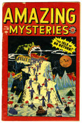 Golden Age (1938-1955):Horror, Amazing Mysteries #32 (Marvel, 1949) Condition: FR/GD....