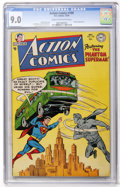 Golden Age (1938-1955):Superhero, Action Comics #199 (DC, 1954) CGC VF/NM 9.0 Cream to off-white pages....