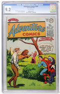 Golden Age (1938-1955):Science Fiction, Adventure Comics #201 (DC, 1954) CGC NM- 9.2 Off-white pages....
