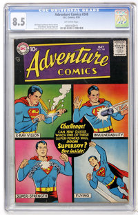 Adventure Comics #248 (DC, 1958) CGC VF+ 8.5 Off-white pages
