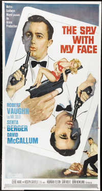 """The Spy With My Face (MGM, 1965). Three Sheet (41"""" X 81""""). Action"""
