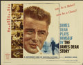 """Movie Posters:Documentary, The James Dean Story (Warner Brothers, 1957). Half Sheet (22"""" X 28""""). Documentary...."""