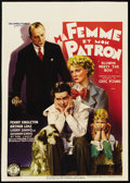"""Movie Posters:Comedy, Blondie Meets the Boss (Columbia, 1939). Pre-War Belgian (24"""" X 33.5""""). Comedy...."""